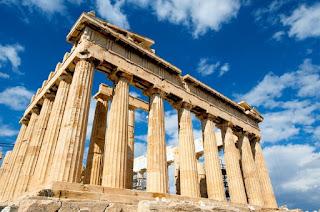 La Acrópolis de Atenas.