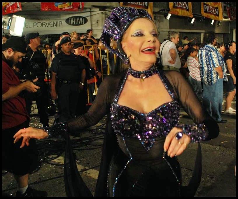 Desfile de Llamadas.Serenata Africana.Letitia D'Aremberg. Montevideo. 2011.