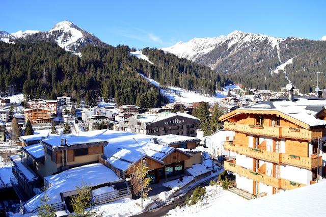 madonna di campiglio inverno neve non sciare