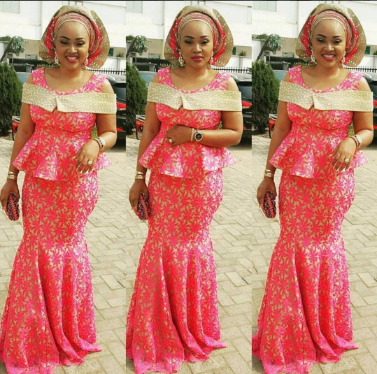 Photos: Mercy Aigbe And Husband's First Wife Spotted At