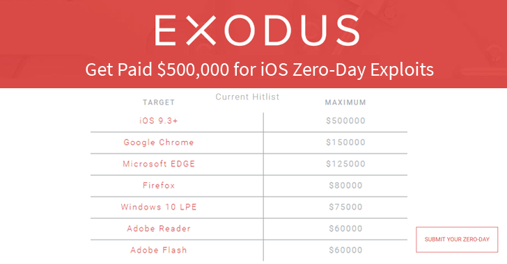 Blackhat Firm Offers $500,000 for Zero-day iOS Exploit