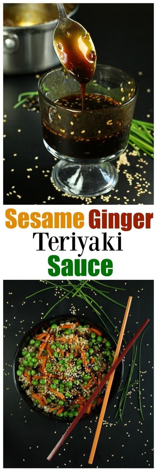 Sesame Ginger Teriyaki Sauce