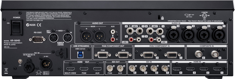 Roland VR-50HD Multi-Format AV Mixer | Kurnia Musik Jogja