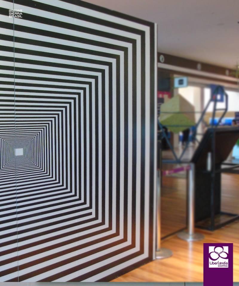 Expo Ilusão de Ótica fica no Uberlândia Shopping até dia 23 de setembro 4abd523be5