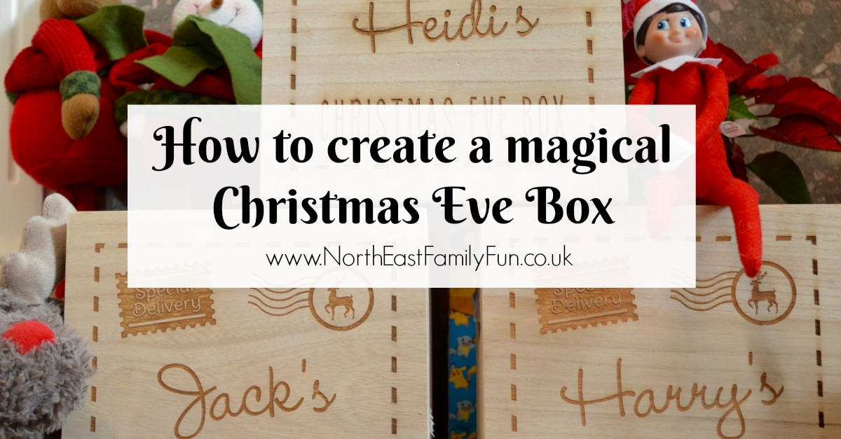 how to create a magical personalised christmas eve box with gettingpersonalcouk including