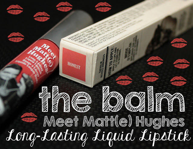 Meet Matt(e) Hughes Long-Lasting Liquid Lipsticks in Honest