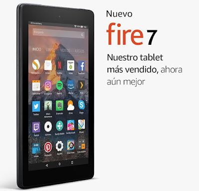 Fire 7 guía compras