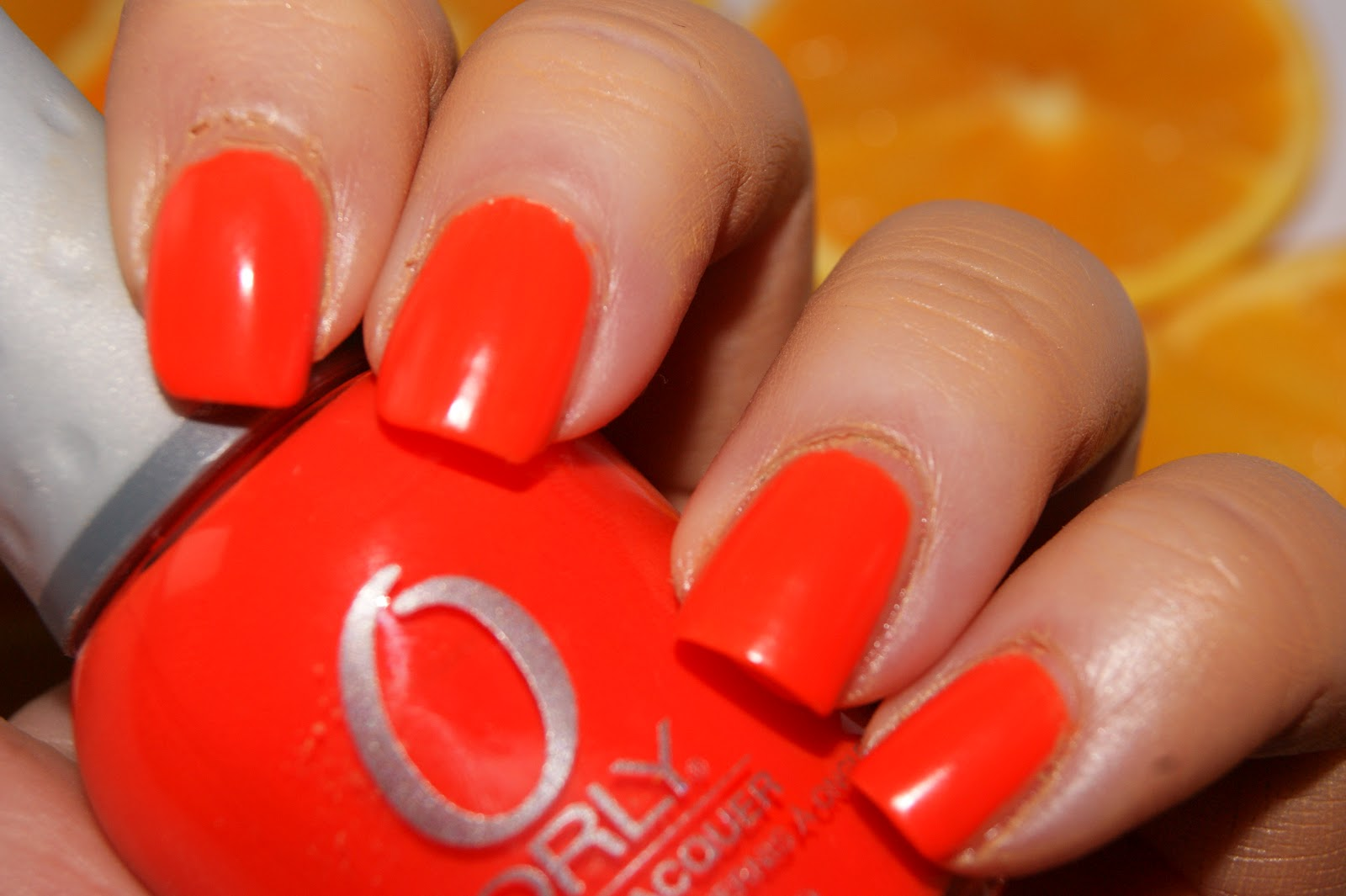 Orly Orange Punch Nail Polish Review The Sunday Girl
