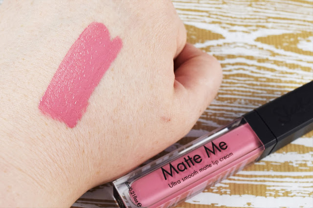 Sleek MakeUP Matte Me Lip Cream in Petal