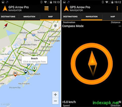 GPS Arrow Navigator PRO v1.31 Apk