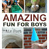 Favorite Activities for Boys