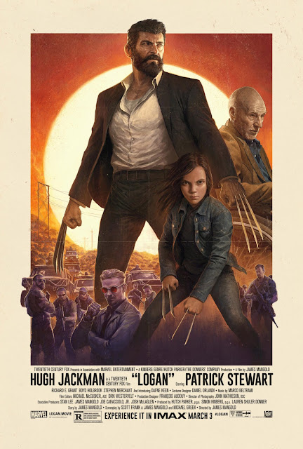 Logan IMAX X-Men/Wolverine Theatrical One Sheet Marvel Movie Poster by Dave Rapoza