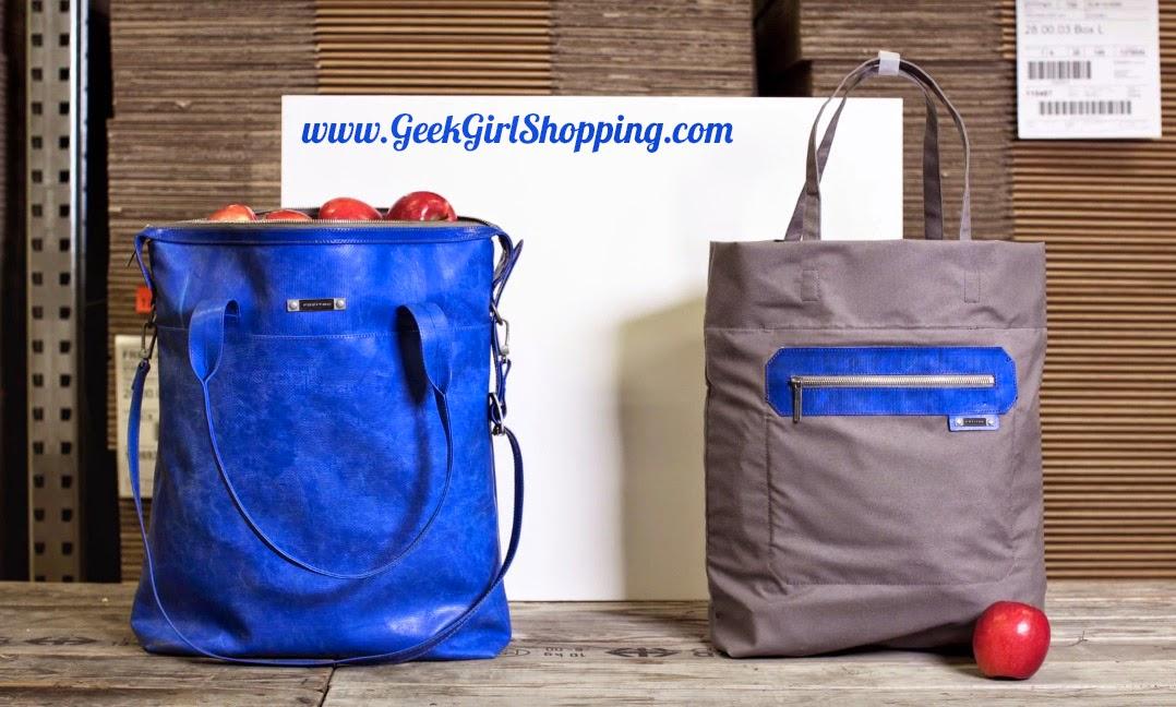 Geek Girl Shopping Borse Di Design Fatte Con Teli In Pvc
