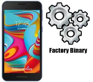 روم كومبنيشن Samsung Galaxy A2 Core SM-A260G