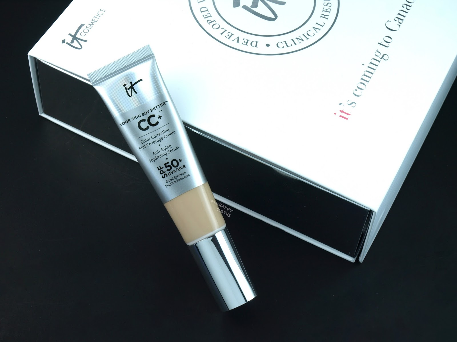 "IT Cosmetics CC Cream in ""Fair"": Review and Swatches"