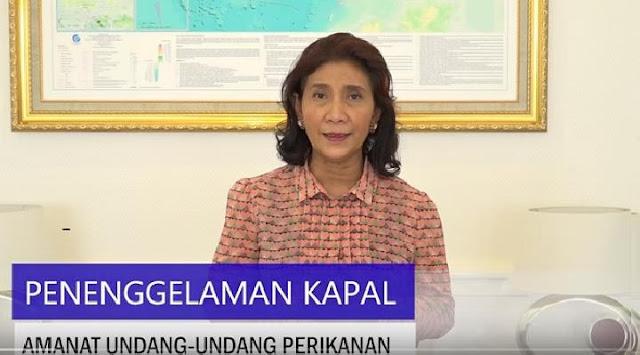 Susi Pudjiastuti: Penenggelaman Kapal Perintah Jokowi