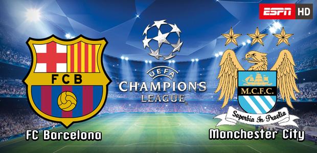 Barcelona Vs Man City Logo: Barcelona Vs Manchester City UEFA Champions League 2014