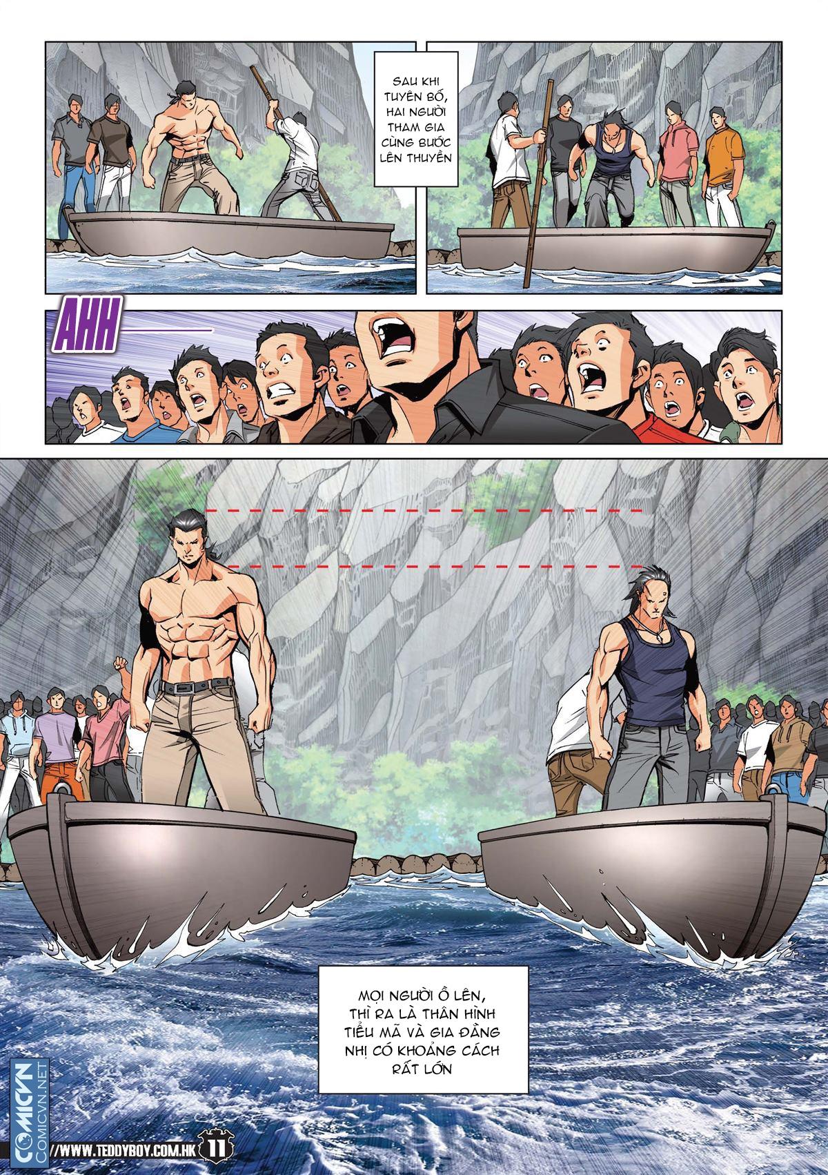 Người Trong Giang Hồ chapter 2148: tiểu mã vs gia đằng nhị trang 9