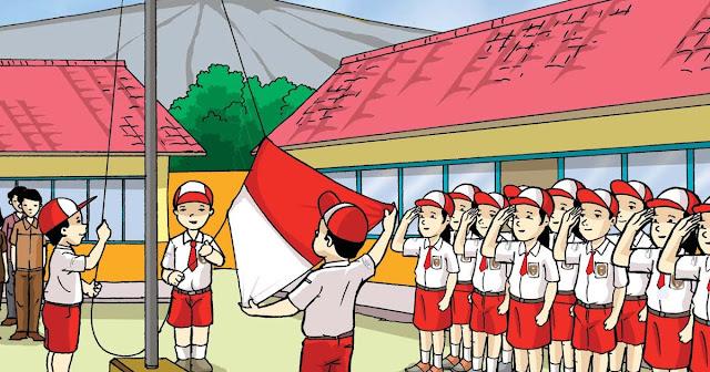 93+ Gambar Animasi Upacara Bendera Paling Keren