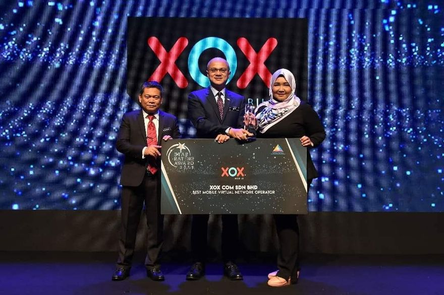 XOX Best MVNO Star Rating Award 2018