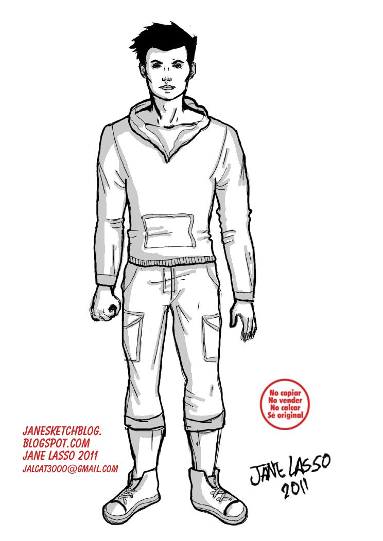 Hombre Estilo Comic Americano Vestido