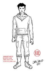 hombre vestido comic estilo americano cuerpo dibujos ropa chii lasso jane desnudo