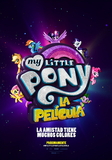 My Little Pony: La Película (2017) 1080p WEBRip 3.6GB mkv Dual Audio AC3 5.1 ch