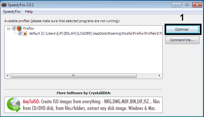 SpeedyFox That Boast Up firefox,chrome,skype,thunderbird In Single Click - Software library