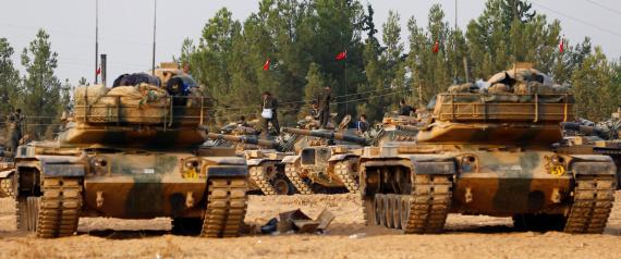 بدء انتشار الجيش التركي في ادلب حسب اتفاقية (الأستانة)