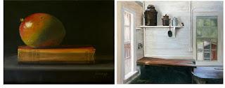 realistic still life, rustic interior