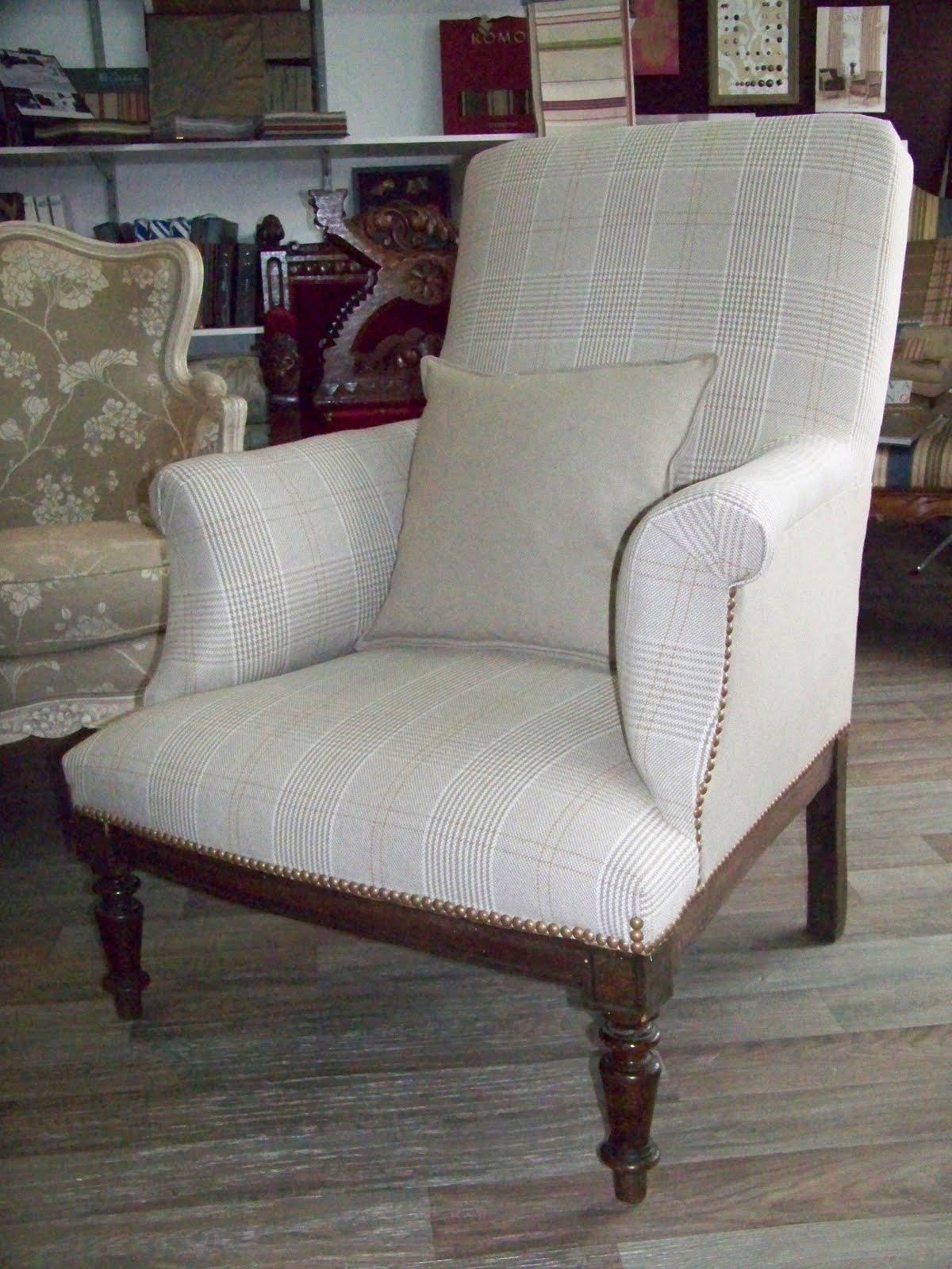 tapissier decorateur fauteuil anglais