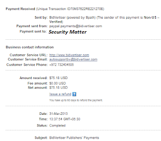 bivertiser payment proof