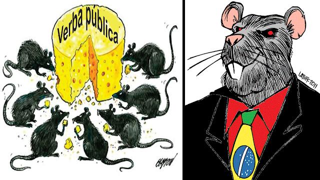 Olha o que a corrupção destruiu no Brasil