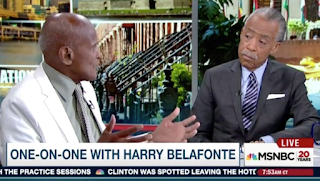 On MSNBC, Belafonte Hyperbolically Claims 'All' Police Killings Are of Blacks