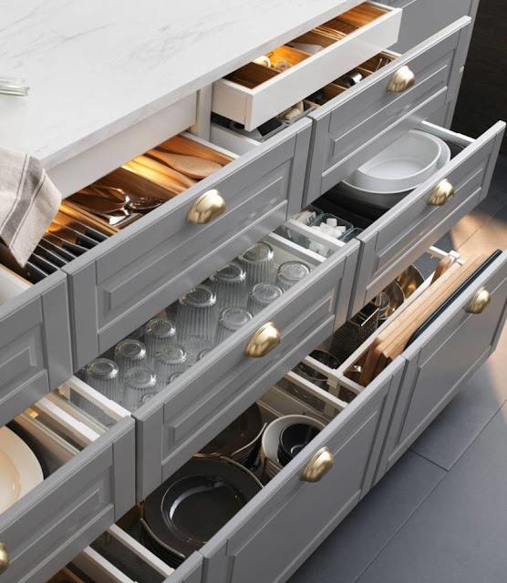 مطابخ ايكيا - احدث صور وتصميمات للمطابخ