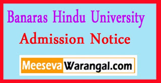 Banaras Hindu University L.K.G. In Central Hindu Girls School Session 2017-18 Admission Notice