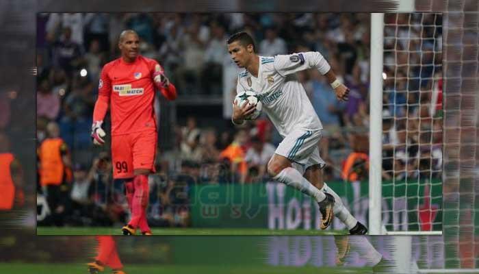 ريال مدريد يعبر أبويل بثلاثية رونالدو بدوري الأبطال