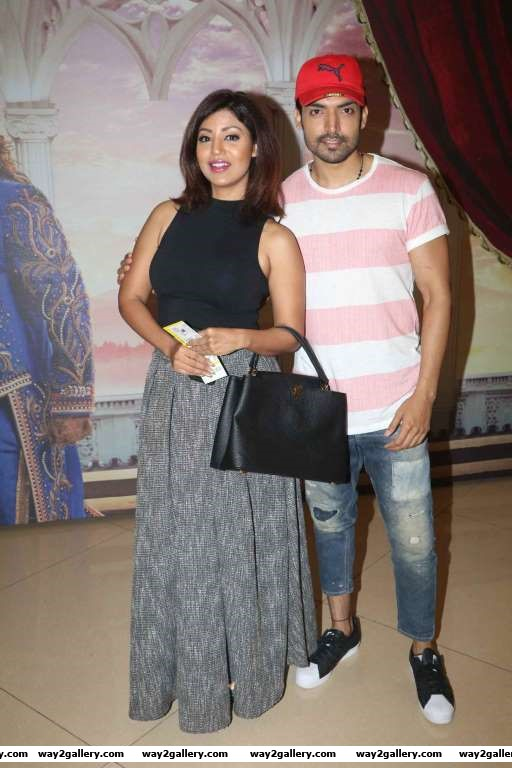 We spotted TV couple Gurmeet and Debina at Disney India celebrate Beauty and the Beast musical night