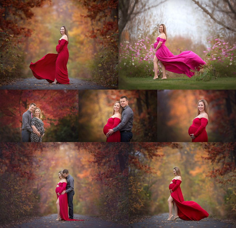 Amazing maternity photos and belly pictures from Rockford IL