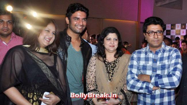 Raj Thackeray, Marathi Actresses Pics from Music Launch of Marathi Film Lai Bhari - June 2014