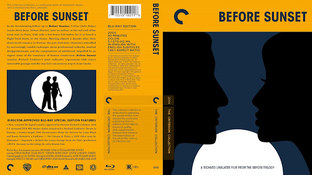 Before Sunset Bluray Cover