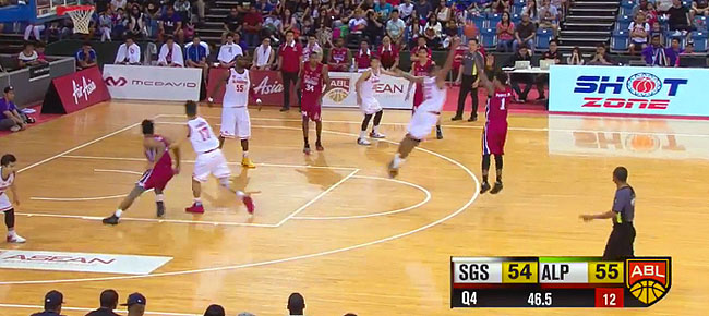 Alab Pilipinas def. Singapore Slingers, 64-62 in OT (REPLAY VIDEO) February 12