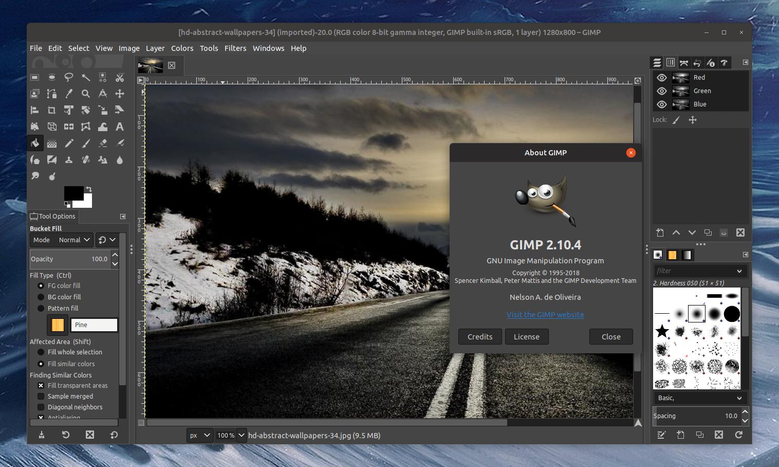"""Résultat de recherche d'images pour """"GIMP"""""""