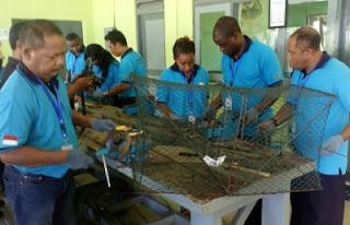 Nelayan dari Afrika ikut pelatihan perikanan di Banyuwangi.