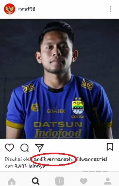Kode Keras! Ini Bukti Andik Vermansah Merapat ke Persib Bandung?