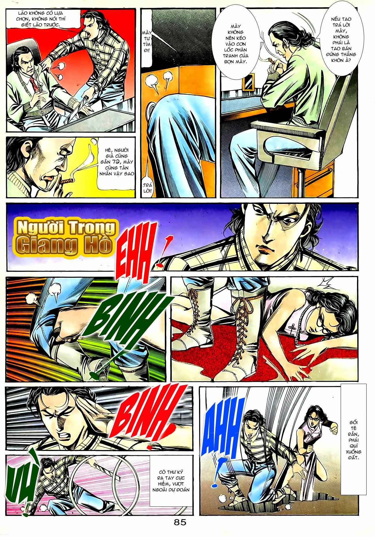 Người Trong Giang Hồ chapter 90: giang hồ hiểm trang 21