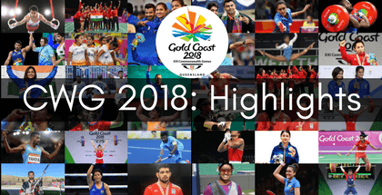 CWG 2018: Highlights