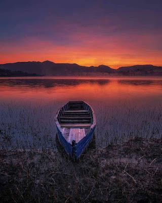 Sunset Situ Cileunca
