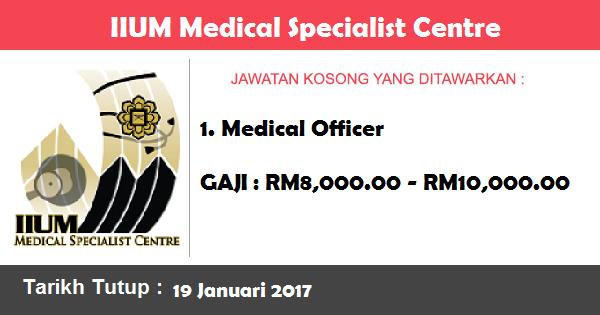 Jawatan Kosong di IIUM Medical Specialist Centre