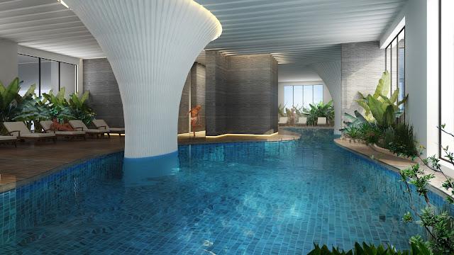 Bể bơi chung cư Thống Nhất Complex